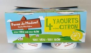 Pack yaourt citron
