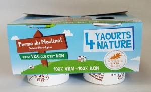 Pack yaourt nature